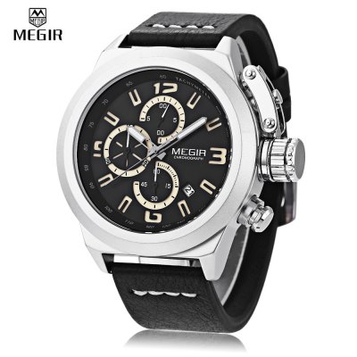 MEGIR 2029 Men Quartz Watch