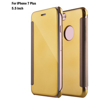 Mirror flip cover pc case for iphone 7 plus 5 5 inch 2 for Mirror iphone to pc
