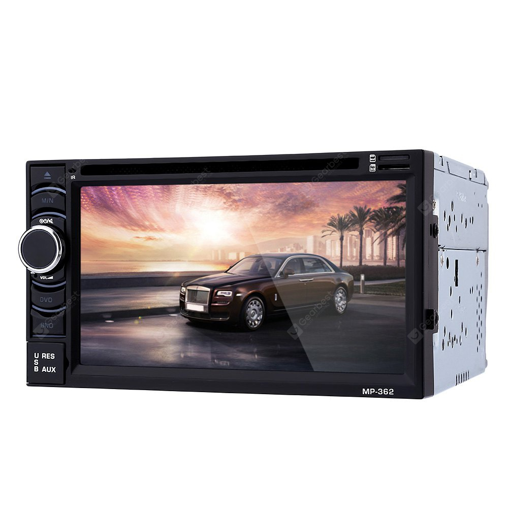 362 6.2 inch Vehicle-mounted Audio Stereo DVD Player