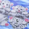 35 x 25cm 5D Embroidery Round Diamond Cute Tiger Stitch Tool for sale