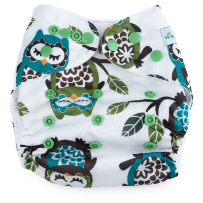 Reusable Adjustable Washable Soft Babies Diaper Pants