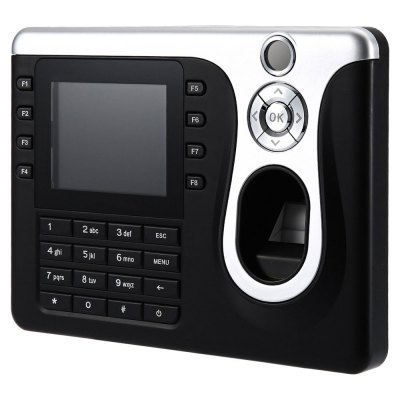 Biometric Fingerprint Attendance ClockOffice Electronics<br>Biometric Fingerprint Attendance Clock<br><br>Product weight: 0.448 kg<br>Package weight: 0.930 kg<br>Product Size(L x W x H): 18.50 x 13.50 x 3.00 cm / 7.28 x 5.31 x 1.18 inches<br>Package Size(L x W x H): 32.50 x 26.00 x 10.50 cm / 12.8 x 10.24 x 4.13 inches<br>Package Contents: 1 x Screen Biometric Fingerprint Attendance Machine, 1 x USB Cable, 1 x Siding, 4 x Screw, 4 x Expansion Tube, 1 x Power Adapter