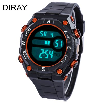 DIRAY DR - 307G Children LED Digital Watch