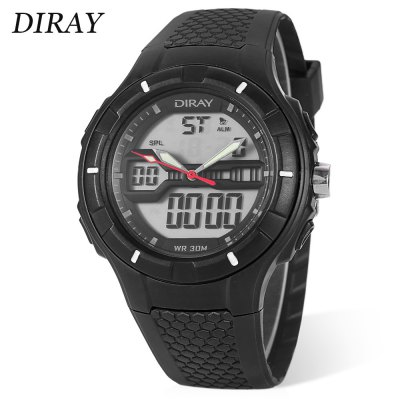 DIRAY DR - 333AD Children Dual Movt Sports Watch