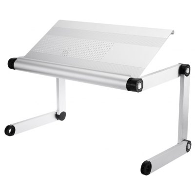 OMAX A6L Portable Laptop Desk Folding Table Multifunctional Vented Stand