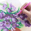 38 x 30cm Mosaic Oil Flowers 5D Embroidery Diamond Stitch Tool photo
