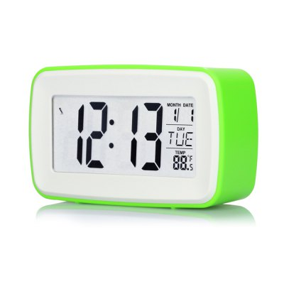 8 in 1 Touch LCD Screen Digital Snooze Alarm Clock