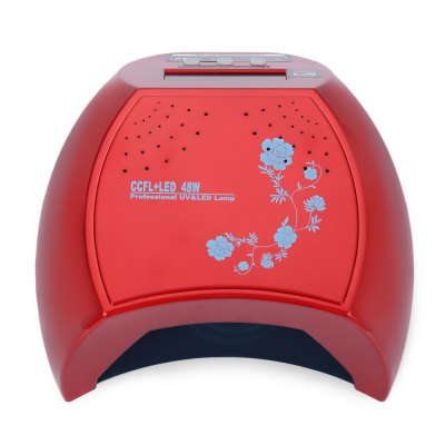 48W LED / CCFL  Infrared Automatic Induction Nail Gel Lamp