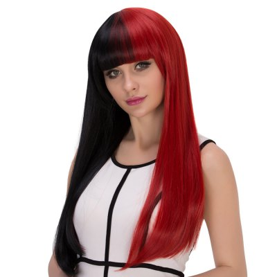 europe-long-straight-mixed-colors-half-black-wigs