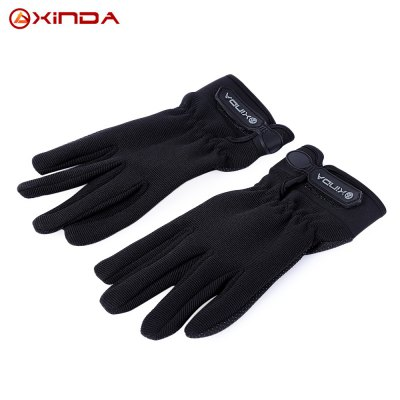 XINDA Paired Anti-slip Breathable Tactical Full Finger Gloves