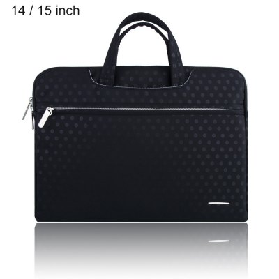 SSIMOO S818 2 in 1 Dot Pattern Laptop Bag for MacBook 14 / 15 inch