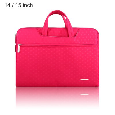 SSIMOO 2 in 1 Dot Pattern Sleeve for MacBook 14 / 15 inch