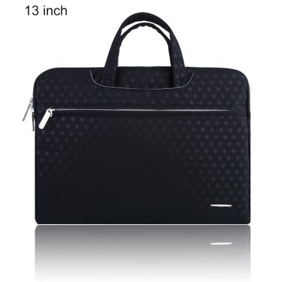 SSIMOO S818 2 in 1 Dot Pattern Laptop Bag for MacBook 13 inch