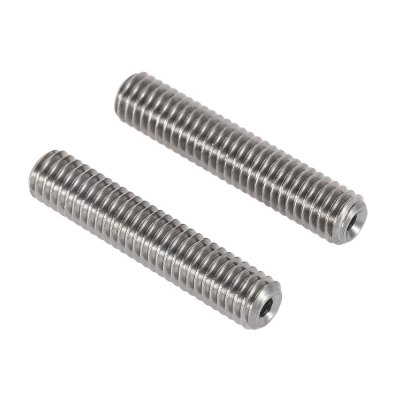 Anet MK8 2pcs Stainless Steel Nozzle Teflon Pipes