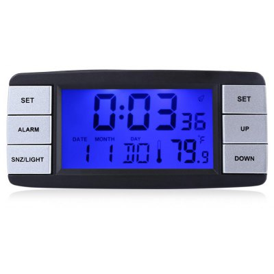 TS - BN63 Digital Hygrometer Thermometer Alarm Clock