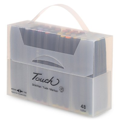 TOUCH FIVE 48 Colors Double Head Available Marker Pen Kit