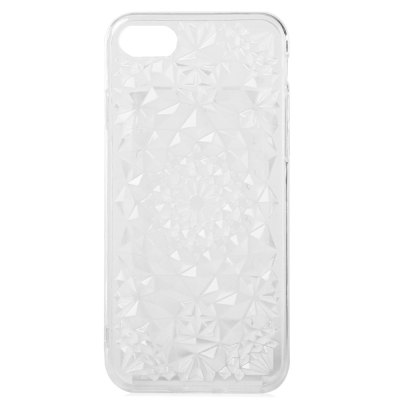 TPU Rhombus Pattern Case for iPhone 7
