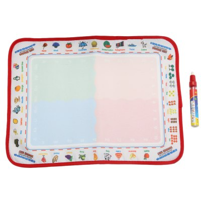 Kids Magic Water Drawing Writing Learning Mat Toy
