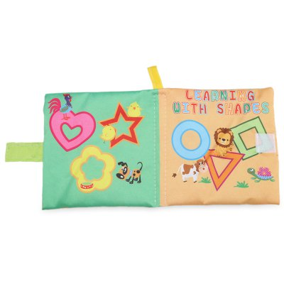 Baby English Learning Soft Cloth Book