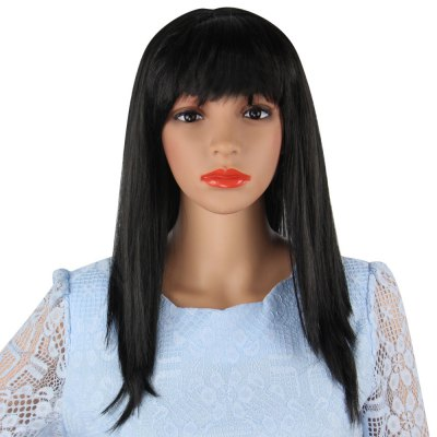 Women Long Straight Wigs Fancy Dress Cosplay Party Costume