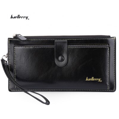 Baellerry Wrist Wallet Clutch Card Holder Phone Pocket