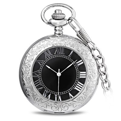 PC31 Retro Mechanical Hand Wind Pocket Watch