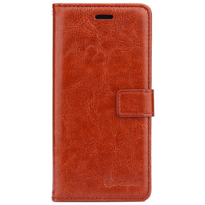 Tomkas Crazy Horse Series Wallet Full Body Case for Xiaomi 5