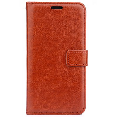 Crazy Horse Series PU Leather Wallet Case Cover