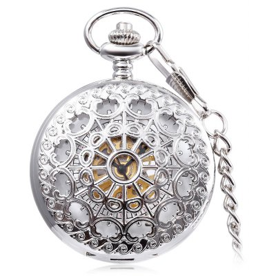 PC5 Vintage Mechanical Hand Wind Pocket Watch