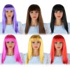Women Long Straight Wigs Fancy Dress Cosplay Party Costume for sale