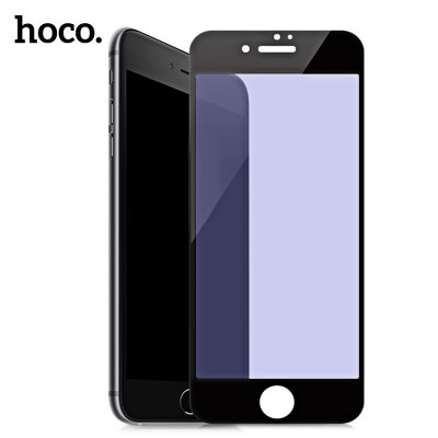 HOCO 9H Flexible PET Tempered Glass Anti-blue Light Protective Film for iPhone 7 Plus