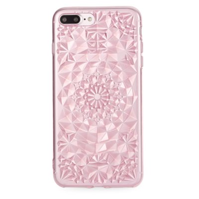 Soft TPU Rhombus Pattern Case for iPhone 7 Plus