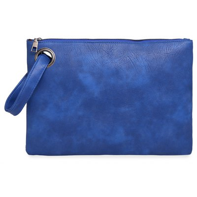 Guapabien Lady Old Classical Solid Color Clutch Envelope Bag