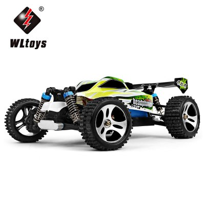 WLtoys A959 - B 1:18 Scale 2.4G 4WD 70km/h Remote Control Off-road Car
