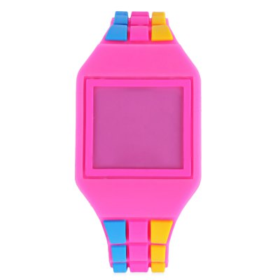 LED Children Digital Square Dial WatchLED Children Digital Square Dial Watch<br><br>Band Length: 7.28 inch<br>Band Material Type: Silicone<br>Band Width: 16mm<br>Case Shape: Square<br>Clasp type: Pin Buckle<br>Dial Diameter: 1.3 inch<br>Dial Display: Digital<br>Dial Window Material Type: Plastic<br>Feature: Led Display<br>Gender: Children<br>Movement: Digital<br>Style: Simple<br>Product weight: 0.020 kg<br>Package weight: 0.041 kg<br>Product Size(L x W x H): 23.00 x 3.50 x 1.00 cm / 9.06 x 1.38 x 0.39 inches<br>Package Size(L x W x H): 24.00 x 4.50 x 2.00 cm / 9.45 x 1.77 x 0.79 inches<br>Package Contents: 1 x LED Children Digital Touch Screen Watch