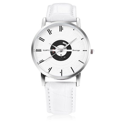 Rosivga 831 Unisex Quartz WatchUnisex Watches<br>Rosivga 831 Unisex Quartz Watch<br><br>Band Length: 8.27 inch<br>Band Material Type: Leather<br>Band Width: 18mm<br>Case material: Alloy<br>Case Shape: Round<br>Clasp type: Pin Buckle<br>Dial Diameter: 1.51 inch<br>Dial Display: Analog<br>Dial Window Material Type: Glass<br>Gender: Men,Women<br>Movement: Quartz<br>Style: Simple<br>Product weight: 0.034 kg<br>Package weight: 0.055 kg<br>Product Size(L x W x H): 25.00 x 4.00 x 0.60 cm / 9.84 x 1.57 x 0.24 inches<br>Package Size(L x W x H): 26.00 x 5.00 x 1.60 cm / 10.24 x 1.97 x 0.63 inches<br>Package Contents: 1 x Rosivga 831 Unisex Quartz Watch