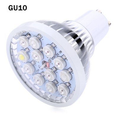 GU10 12W AC 85 - 265V LED Mini Grow Light