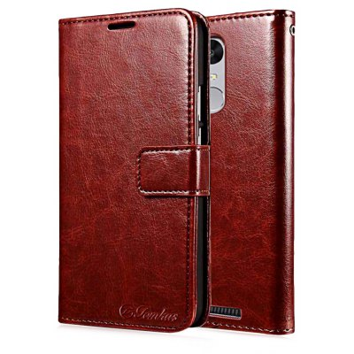 Magnetic Flip Leather Wallet Case Cover for Redmi Note 3