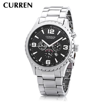 CURREN 8056 Men Quartz Watch