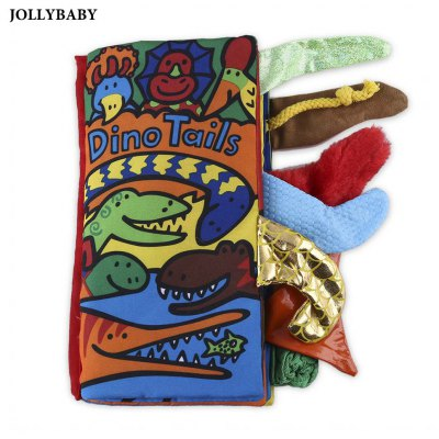 JOLLYBABY 10 Pages Educational Cloth Book