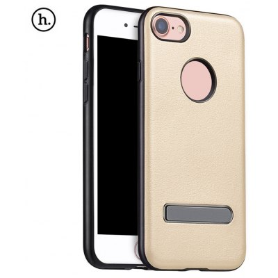 HOCO PU Leather Cover Metal Magnet Stand for iPhone 7