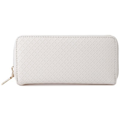 Trendy Women Patchwork Handbag Clutch Wrist WalletWomens Wallets<br>Trendy Women Patchwork Handbag Clutch Wrist Wallet<br><br>Wallets Type: Card Wallets<br>Gender: For Women<br>Style: Fashion<br>Closure Type: Zipper<br>Pattern Type: Solid<br>Main Material: PU Leather<br>Height: 9cm / 3.54 inches<br>Width: 2cm / 0.79 inches<br>Length(CM): 19cm / 7.48 inches<br>Color: Black, White, Blue, Golden<br>Product weight: 0.165 kg<br>Package weight: 0.186 kg<br>Package size (L x W x H): 19.50 x 2.50 x 9.50 cm / 7.68 x 0.98 x 3.74 inches<br>Package Contents: 1 x Wallet