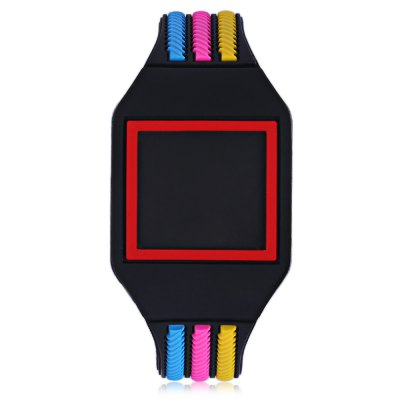 LED Children Digital Touch Screen WatchKids Watches<br>LED Children Digital Touch Screen Watch<br><br>Band Length: 7.28 inch<br>Band Material Type: Silicone<br>Band Width: 16mm<br>Case Shape: Round<br>Clasp type: Pin Buckle<br>Dial Diameter: 1.3 inch<br>Dial Display: Digital<br>Dial Window Material Type: Plastic<br>Feature: Led Display<br>Gender: Children<br>Movement: Digital<br>Style: Simple<br>Product weight: 0.020 kg<br>Package weight: 0.041 kg<br>Product Size(L x W x H): 23.00 x 3.50 x 1.00 cm / 9.06 x 1.38 x 0.39 inches<br>Package Size(L x W x H): 24.00 x 4.50 x 2.00 cm / 9.45 x 1.77 x 0.79 inches<br>Package Contents: 1 x LED Children Digital Touch Screen Watch