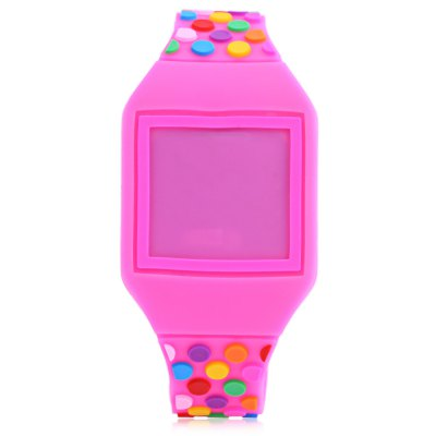 Touch Screen Children Digital WatchKids Watches<br>Touch Screen Children Digital Watch<br><br>Band Length: 7.28 inch<br>Band Material Type: Silicone<br>Band Width: 16mm<br>Case Shape: Round<br>Clasp type: Pin Buckle<br>Dial Diameter: 1.3 inch<br>Dial Display: Digital<br>Dial Window Material Type: Plastic<br>Feature: Led Display<br>Gender: Children<br>Movement: Digital<br>Style: Simple<br>Product weight: 0.020 kg<br>Package weight: 0.041 kg<br>Product Size(L x W x H): 23.00 x 3.50 x 1.00 cm / 9.06 x 1.38 x 0.39 inches<br>Package Size(L x W x H): 24.00 x 4.50 x 2.00 cm / 9.45 x 1.77 x 0.79 inches<br>Package Contents: 1 x Children Digital Touch Screen Watch