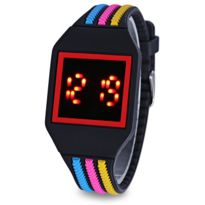 LED Children Digital Touch Screen Watch
