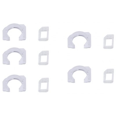 5Pack / Set Front Camera Lens Frame with Light Sensor Replacement for iPhone 6S Plus