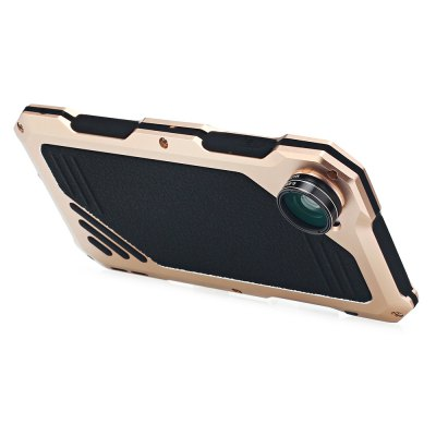 3 in 1 Kit Camera Lens Aluminum Case for iPhone 7iPhone Cases/Covers<br>3 in 1 Kit Camera Lens Aluminum Case for iPhone 7<br><br>Function: Anti-knock,Dirt-resistant,Water/Dirt/Shock Proof<br>Type: Case<br>Product weight: 0.064 kg<br>Package weight: 0.234 kg<br>Product Size(L x W x H): 14.70 x 7.60 x 1.20 cm / 5.79 x 2.99 x 0.47 inches<br>Package Size(L x W x H): 21.70 x 12.00 x 2.10 cm / 8.54 x 4.72 x 0.83 inches<br>Package Contents: 1 x Case, 1 x Fisheye Lens, 1 x 15X Macro Lens, 1 x Wide Angle Lens, 1 x Cross Screwdriver, 6 x Screw, 1 x Receive Bag, 1 x English User Manual
