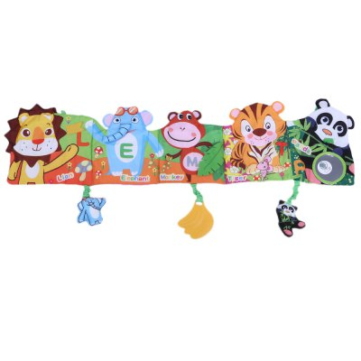 Jollybaby Cute Baby Cartoon Animal Plant Print Cloth BookBaby Bedding<br>Jollybaby Cute Baby Cartoon Animal Plant Print Cloth Book<br><br>Material: Cloth,Cotton<br>Suitable Age: 0-36 months<br>Pattern Type: Animal,Print<br>Item Type: Cloth Book<br>Product weight: 0.140 kg<br>Package weight: 0.162 kg<br>Product size (L x W x H): 75.50 x 17.30 x 0.60 cm / 29.72 x 6.81 x 0.24 inches<br>Package size (L x W x H): 17.80 x 15.50 x 6.00 cm / 7.01 x 6.1 x 2.36 inches<br>Package Content: 1 x Cloth Book