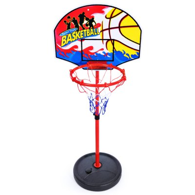 Hongxiang Children Adjustable Portable Basketball Set with Pump