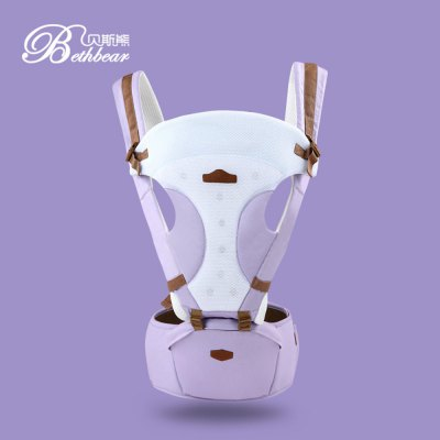 Bethbear Baby Hip Seat Waist Stool Carrier Infant BackpackBaby Carriers &amp; Backpacks<br>Bethbear Baby Hip Seat Waist Stool Carrier Infant Backpack<br><br>Item Type: Backpacks &amp; Carriers<br>Suitable Age: 0-36 months<br>Load Bearing: 20kg<br>Carriers Type: Back Carry,Face-to-Face,Front Carry,Front Facing,Horizontal<br>Materials: 3D Mesh,Cotton<br>Shape/Pattern: Patchwork<br>Product weight: 0.575 kg<br>Package weight: 0.597 kg<br>Package Size(L x W x H): 20.00 x 23.00 x 15.00 cm / 7.87 x 9.06 x 5.91 inches<br>Package Contents: 1 x Baby Hip Seat